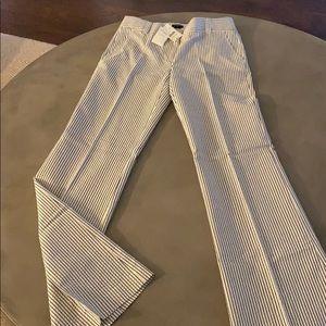 Seersucker trouser pants